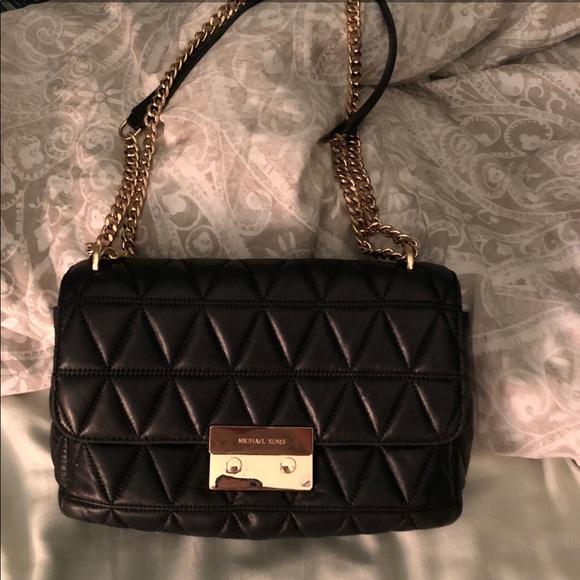 7730f74fc40e Michael Kors Bags | Black Large Sloan Bag | Poshmark